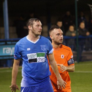 GLOSSOP VICTORY ENDS GOAL DROUGHT