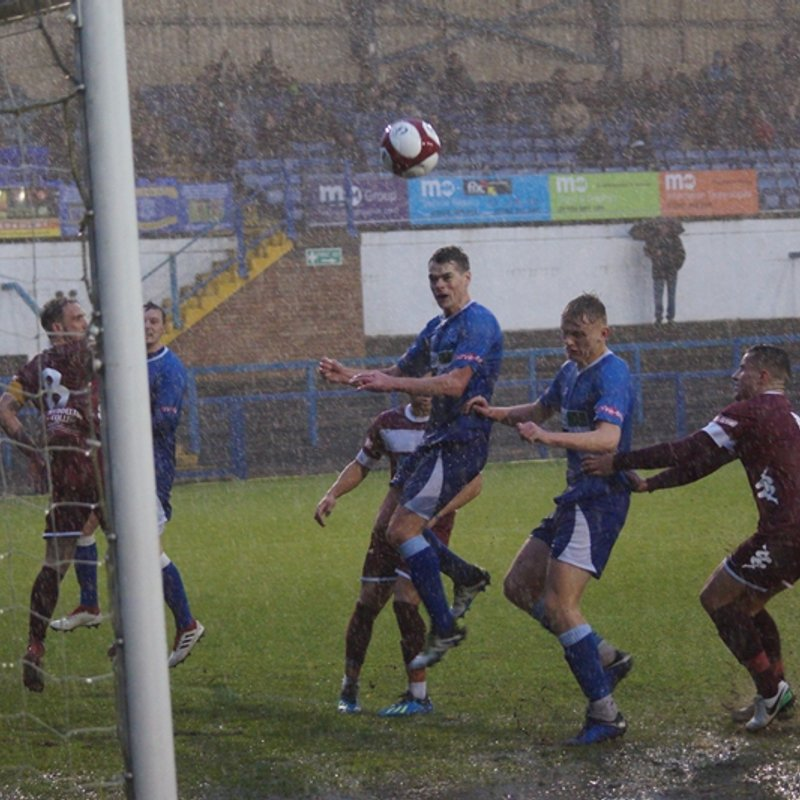 HEAVY RAIN THWARTS BLUES TREBLE CHANCE