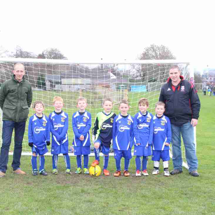 UNDER 7'S LAND DEAL WITH RIDGEGEAR