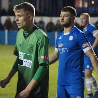 BOTT ON THE SPOT AS BLUES CLAIM A POINT