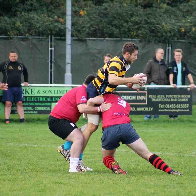 Yog's memorial match 2015 Hinckley vs Rugby Lions