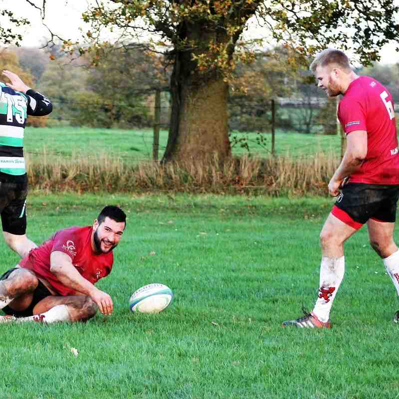 Woodrush 0 Lions 1XV