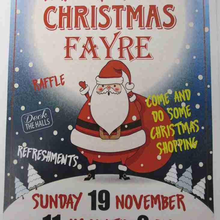 Berwick Rugby Club Christmas Fayre