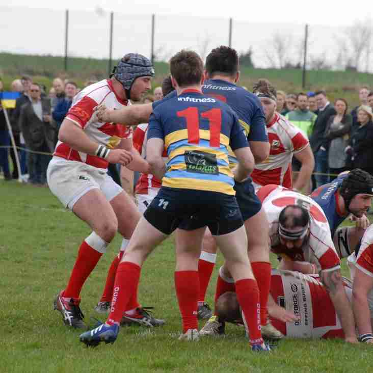 OLD COOPS V EUCRFC MATCH REPORT