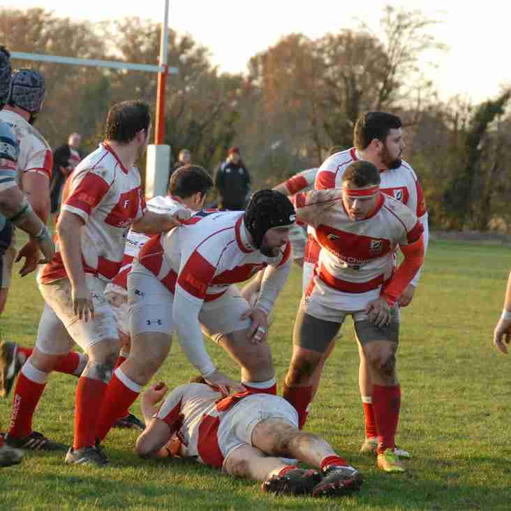 EPPING FINALLY HAVE COOPERS OVER A BARREL OLD COOPERIANS RFC 12 v 27 EPPING UPPER CLAPTON RFC