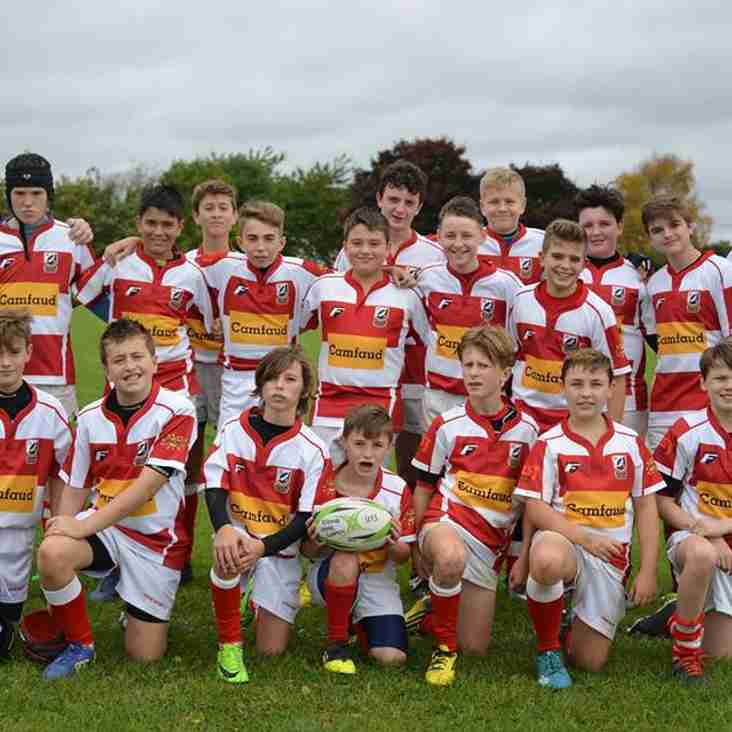 EUCRFC UNDER 13'S WIN SEMI FINAL
