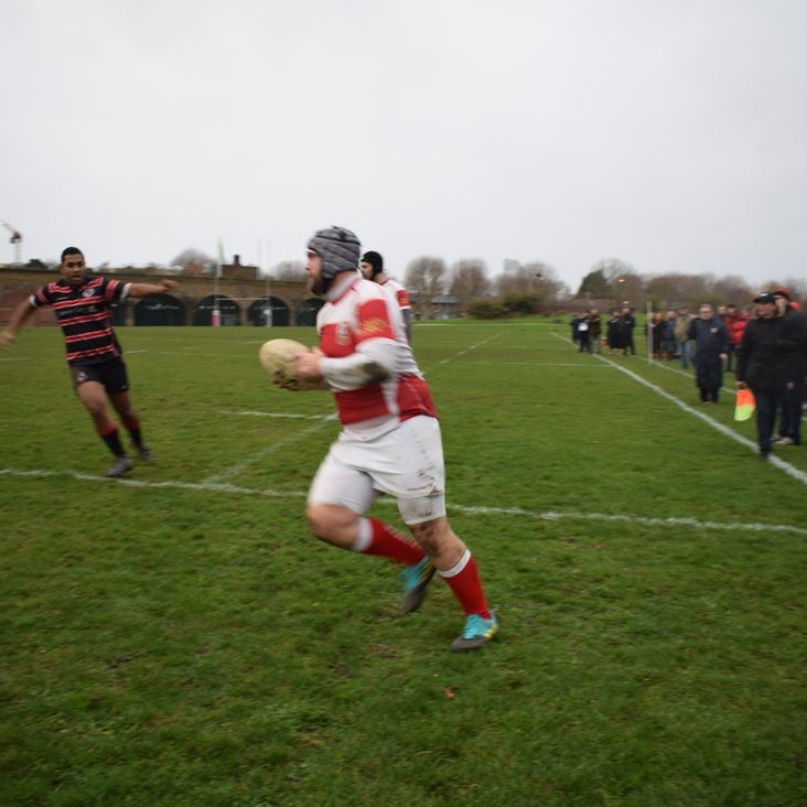 CLAPTON RETAIN LEAGUE LEAD AT MILLWALL MILLWALL RFC 5 V 78 EPPING UPPER CLAPTON RFC<