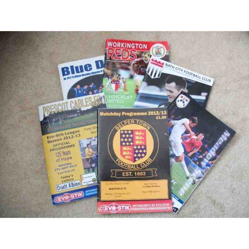 Non-League programmes