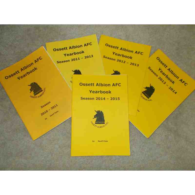 Ossett Albion Yearbooks
