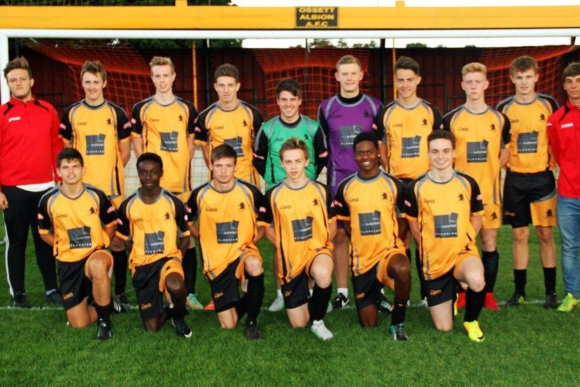 Under 19 beat Ossett Town 1 - 6
