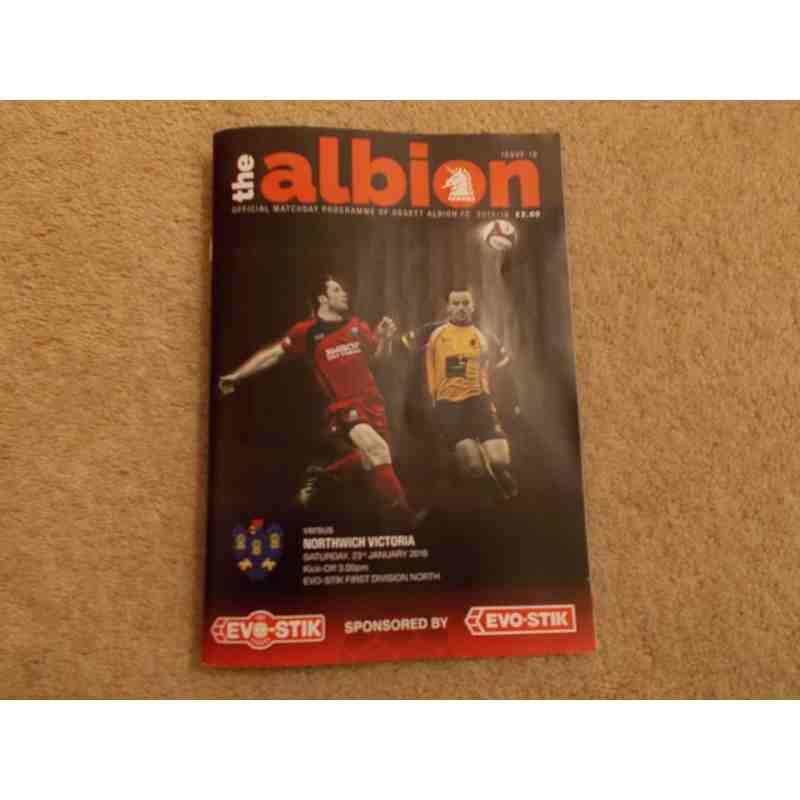 This season's Albion programmes