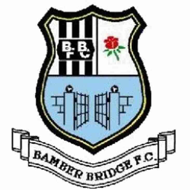 Bamber Bridge  v  Ossett Albion