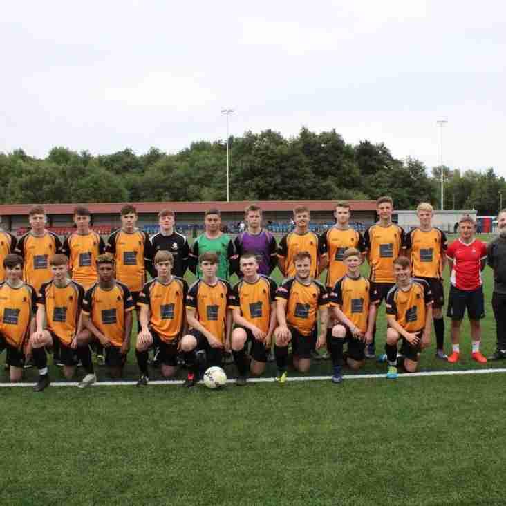 York City Academy  1 - 0  Ossett Albion U19s