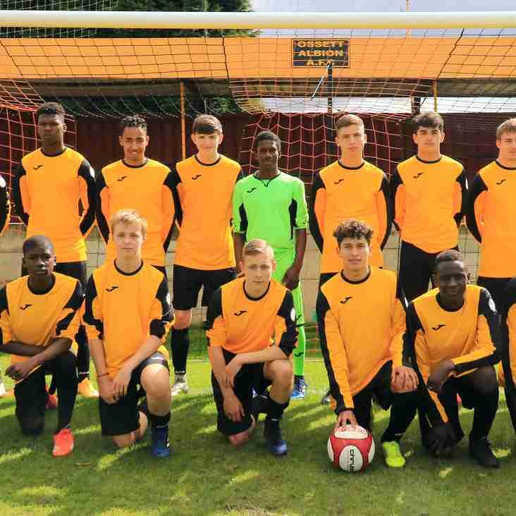 Ossett Albion Academy  4 - 5  Radcliffe Borough Academy