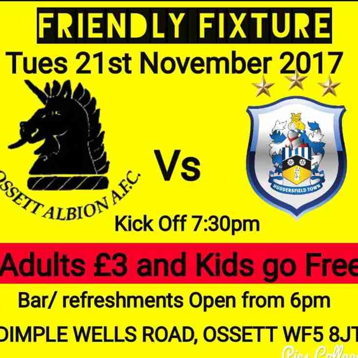 Ossett Albion  v  Huddersfield Town U23s