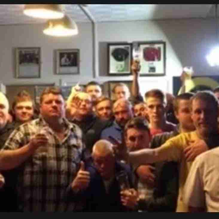 Unbeaten Club Darts Team Crowned Champions