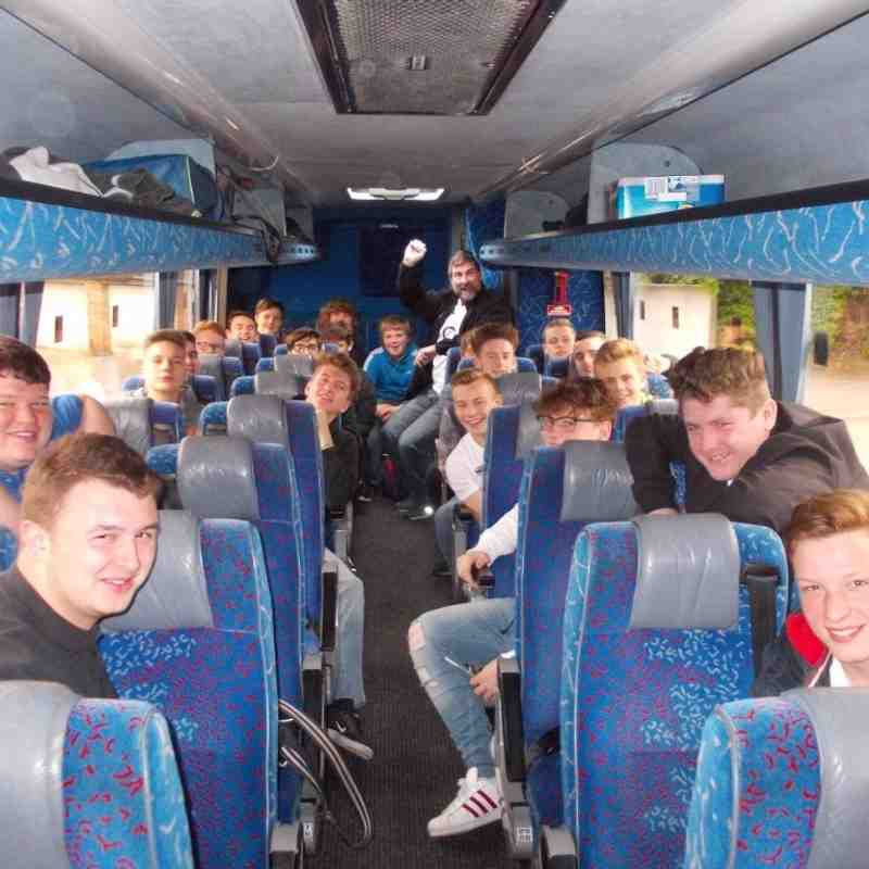 u16s trip to Twickenham