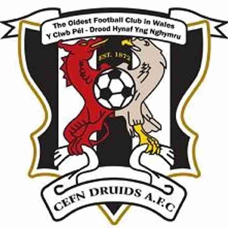ELEMENTS CEFN DRUIDS NEWS