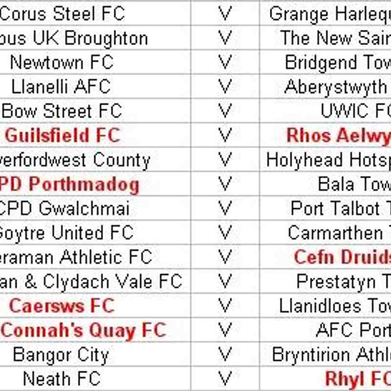 Welsh Cup Rd 2