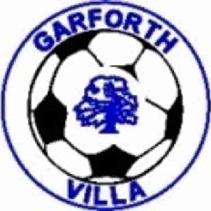 Positive Feedback ~ Garforth Villa vs Sherburn White Rose U9's