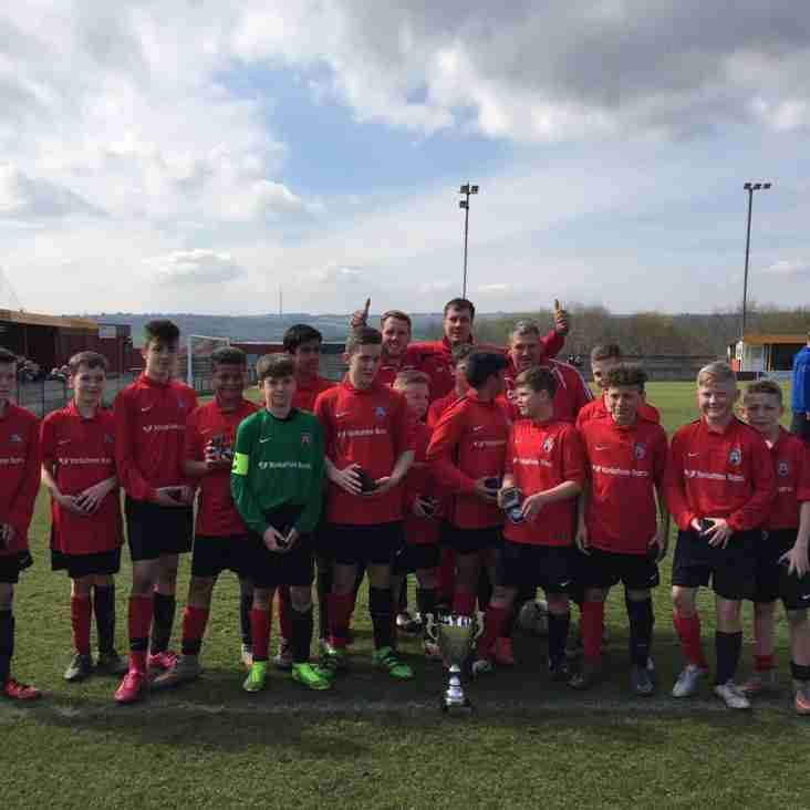 U13 Challenge Cup Final Winners