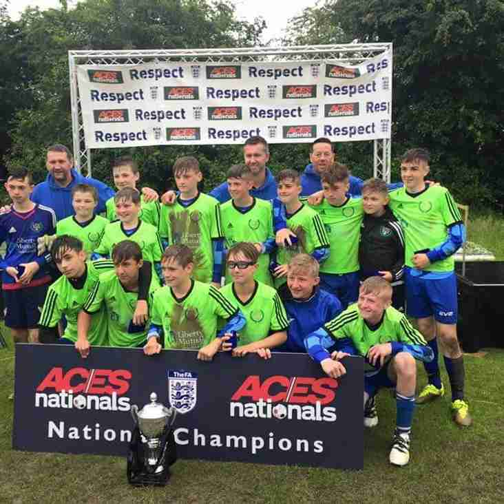 Kellingley Welfare Under 13's - ACES Nationals Champions