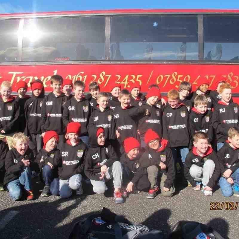 Under 9's and 10's first ever tour.