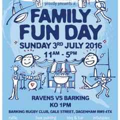 Ravens Fun Day @ Barking Rugby Club