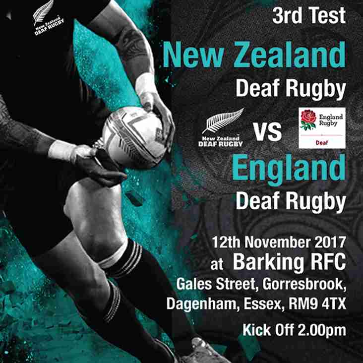 Deaf Rugby Comes to Barking