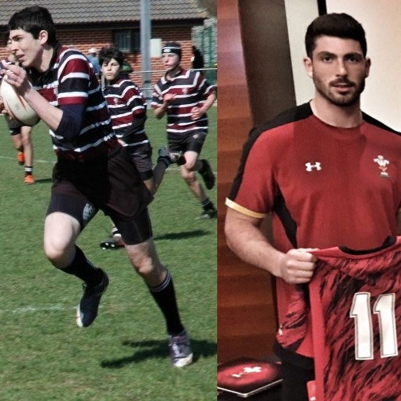 Congratulations to ex Beccehamian Matt Owen who won his first cap for Wales