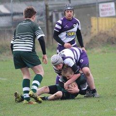 Under 14's victory at Basildon