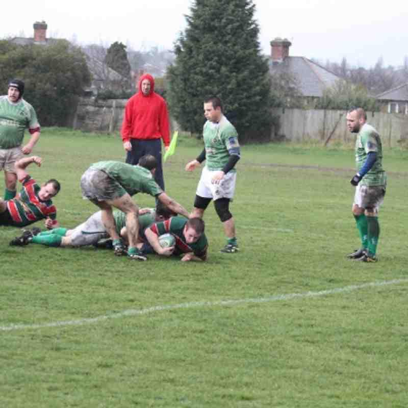 AOE 3s v Sutton Coldfield