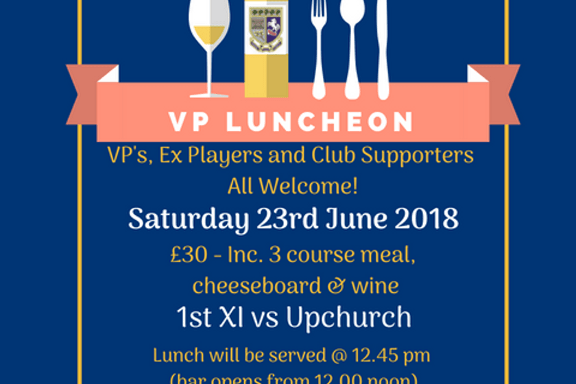 VP, Ex Players and Club Lunch