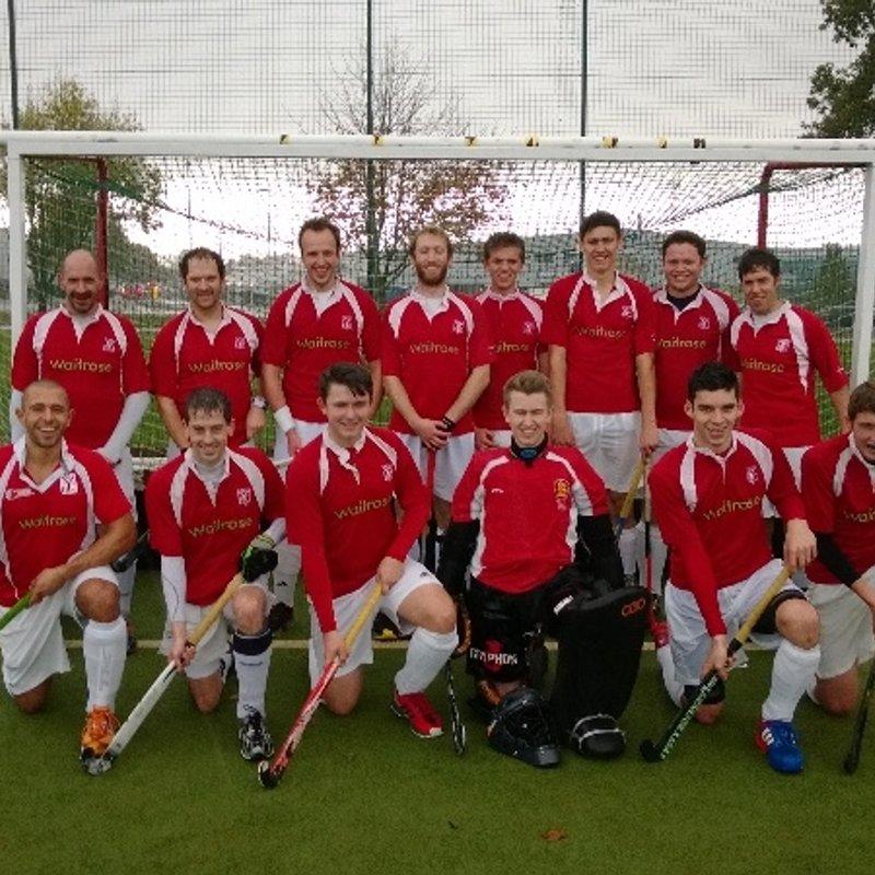 Mens 1st  beat Southampton 2 2 - 5