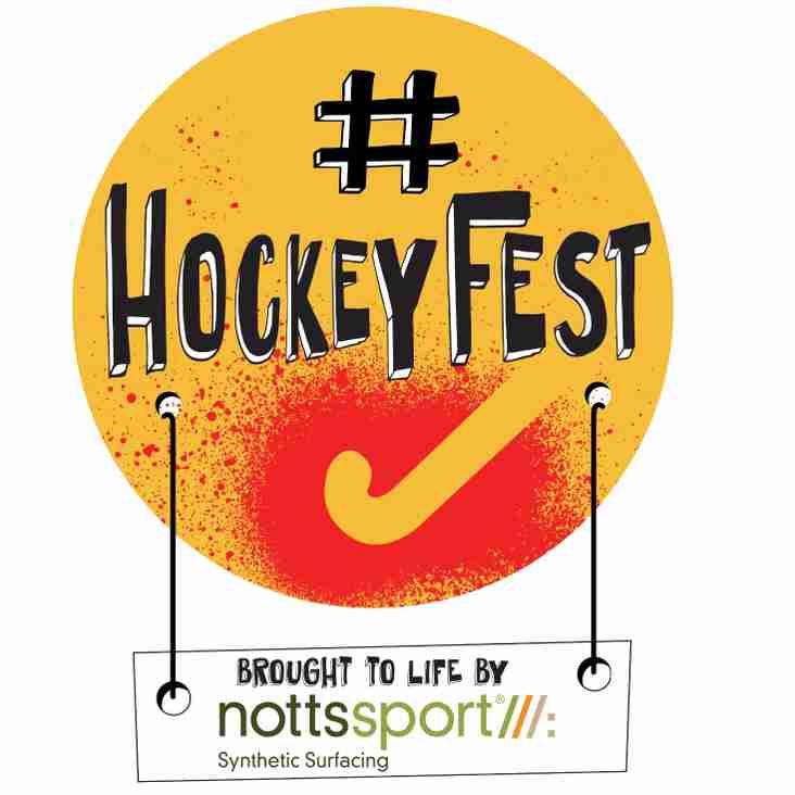 HockeyFest is on 1st September