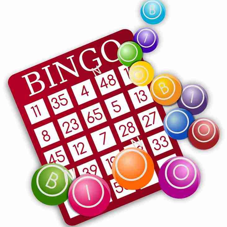 Bingo Night Saturday 2nd March