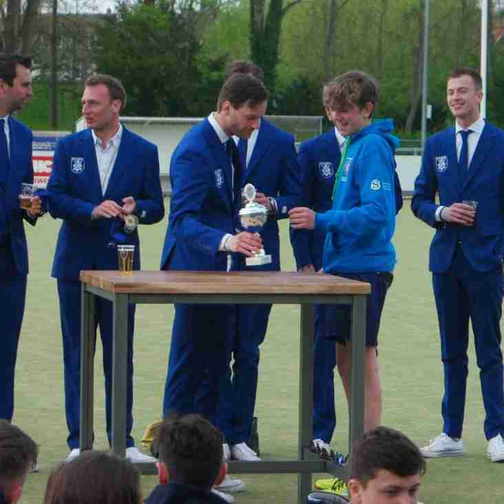 MHC Boys win the International U18 Easter Tour hosted by MHC Krimpen