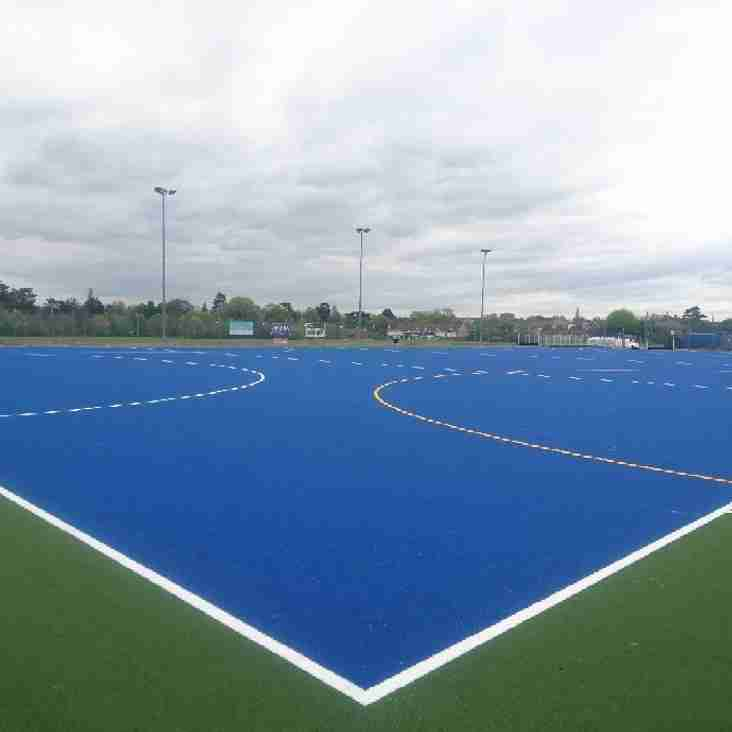 Merlins play the inauguration match on the new Altwood Pitch on Saturday 22nd April