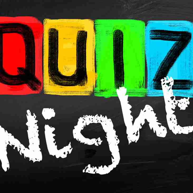 Quiz Night on Friday 23rd March