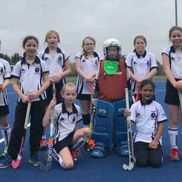 Our U10s Girls qualify for the South of England In2Hockey Finals