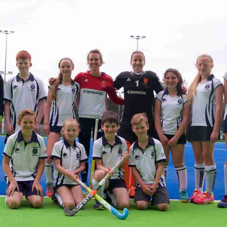 Maidenhead Colts in Newsround Hockey special