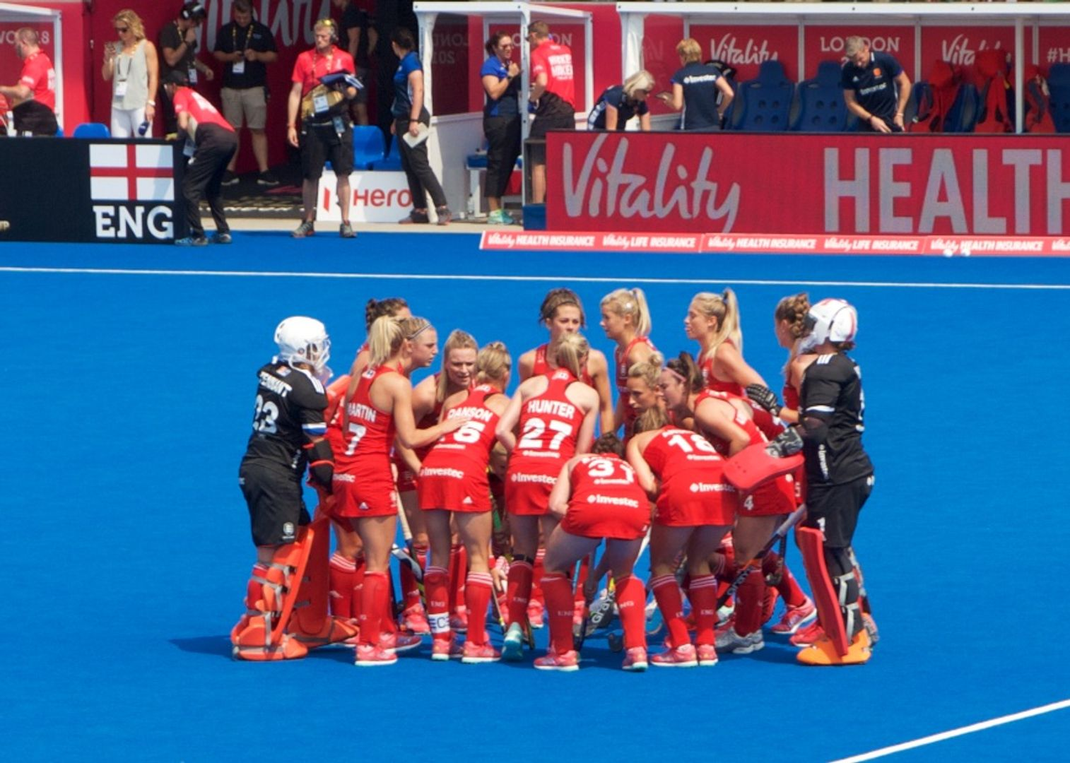 The Ladies Vitality World Cup Comes To London News Maidenhead
