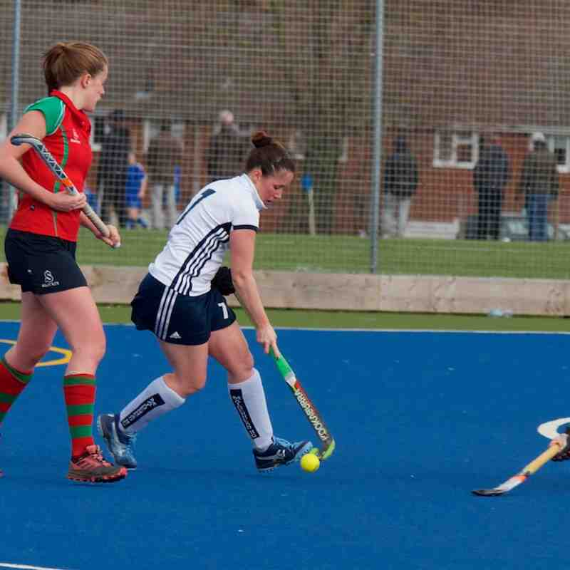 Ladies 1s Tulse Hill and Dulwich Jan 19