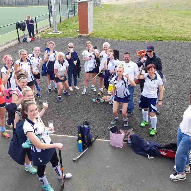 Ladies 4s are promoted!