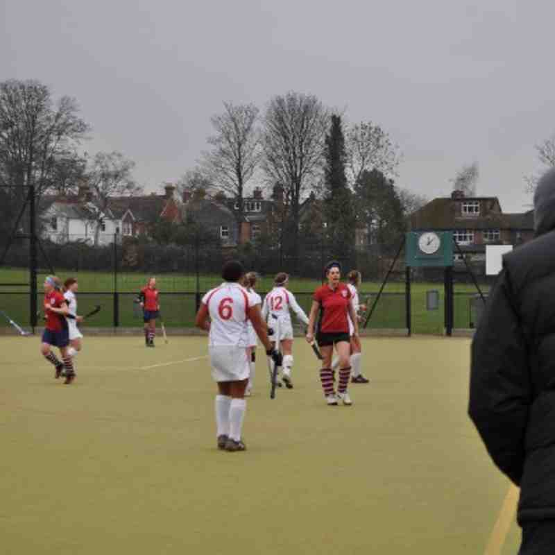 Ladies 1s Vs Aldershot & Farnham