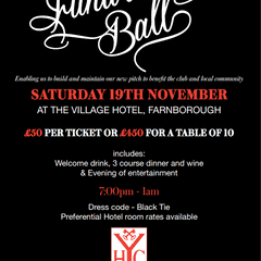 It's Back - YHC Fundraising Ball