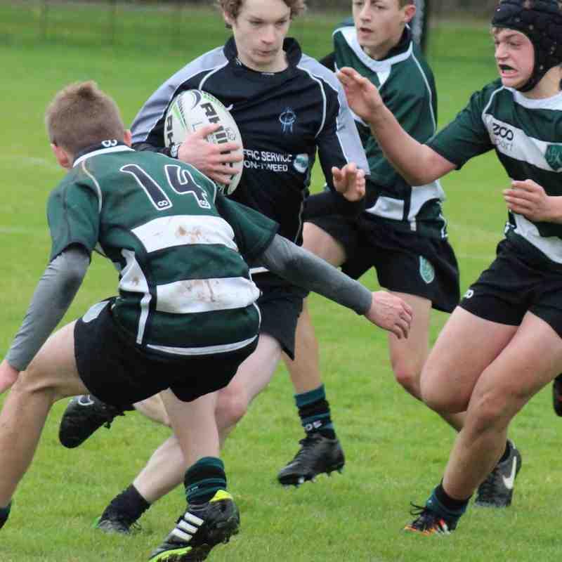 Berwick Schools U14 & U16 v Bede Academy 17/10/15