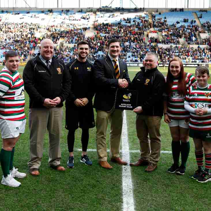 Aston Old Edwardian RFC become an affiliated club to Wasps RFC