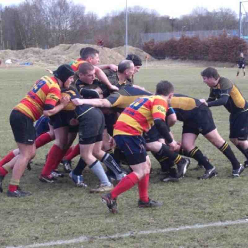 2nds v West 2As 6 March