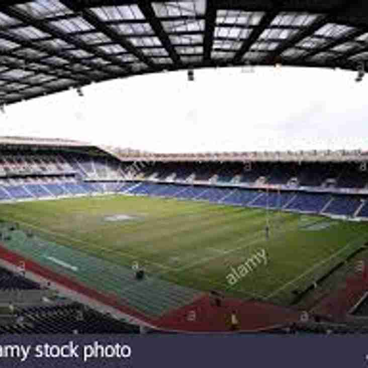 2019 Six Nations Tickets (home) - apply by 20 Oct